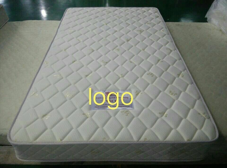 Double size box spring mattress for prison