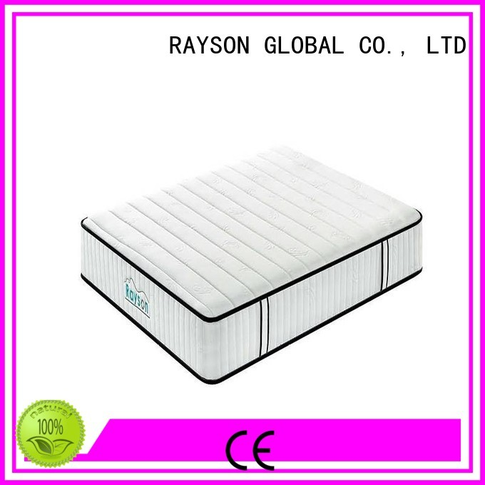 Rayson Mattress Custom memory foam mattress with coil springs manufacturers
