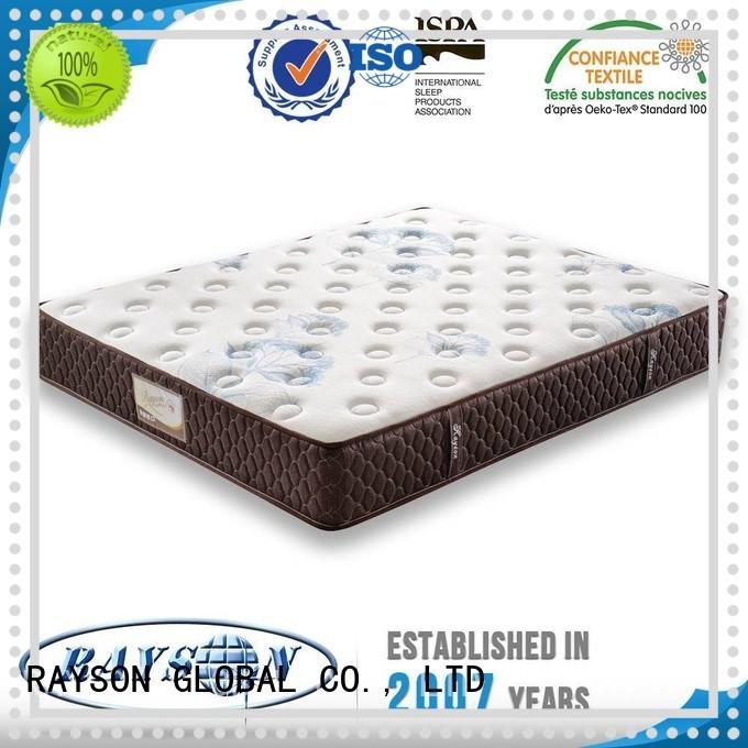 Rayson Mattress fireproof hard spring mattress Suppliers